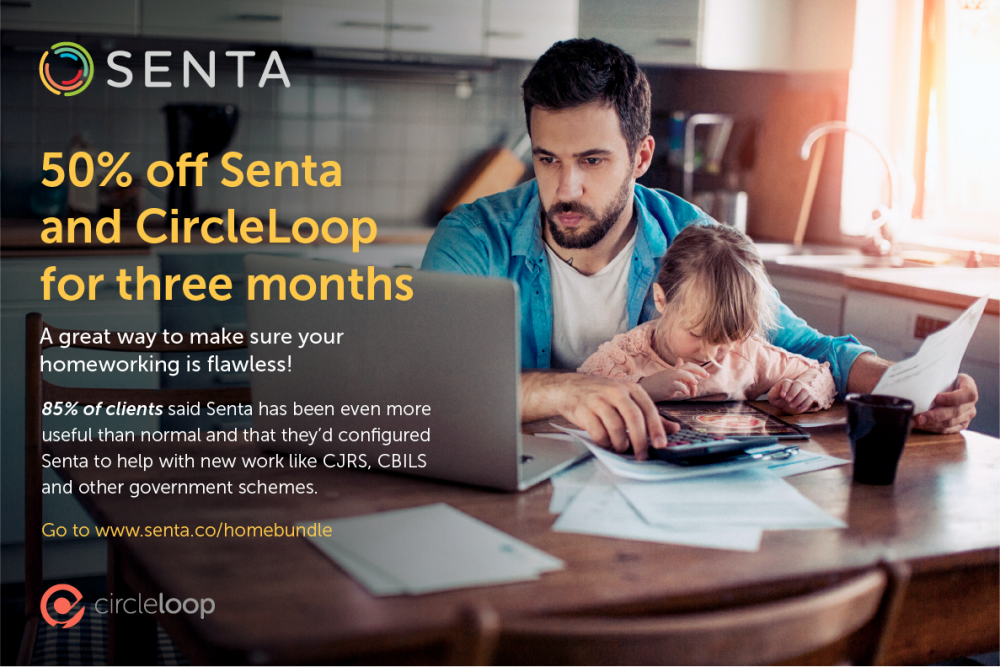 Senta and CircleLoop 50% off for 3 months