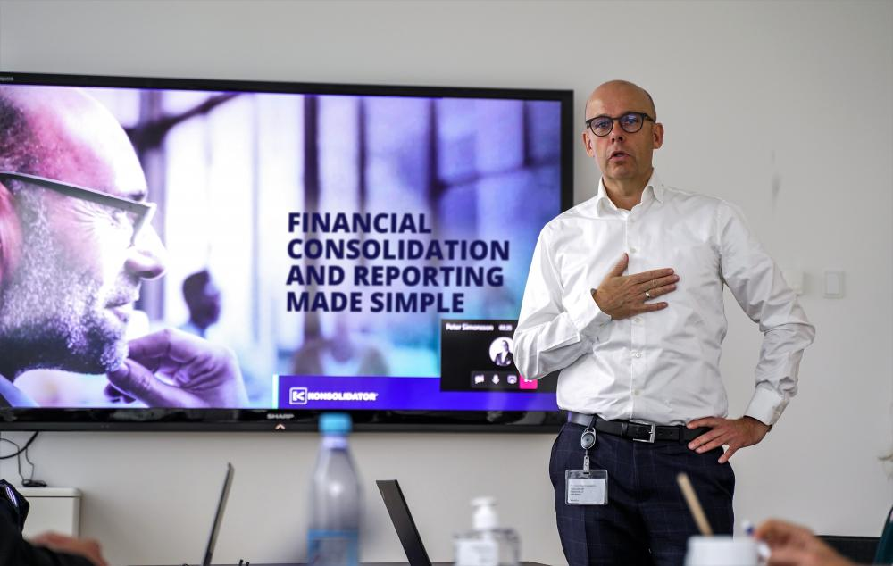 Smart technology for group finance in 2021