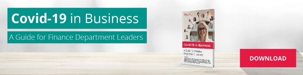 covid-19 in business - a guide for finance department leaders