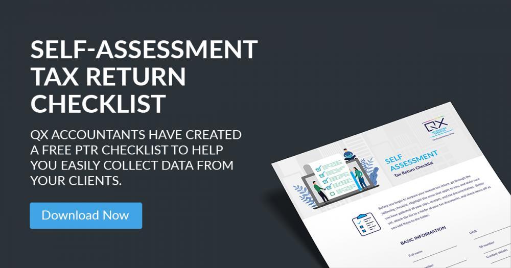Self-Assessment Tax Return Checklist for Accountants