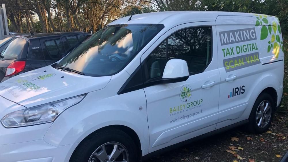 The Bailey Group's Making Tax Digital scan van