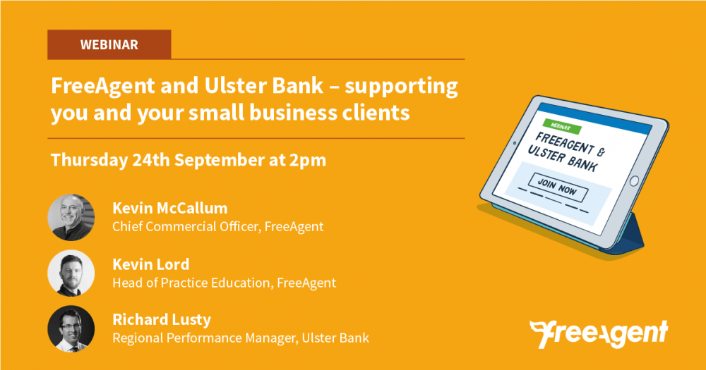 Ulster Bank NI & FreeAgent Webinar