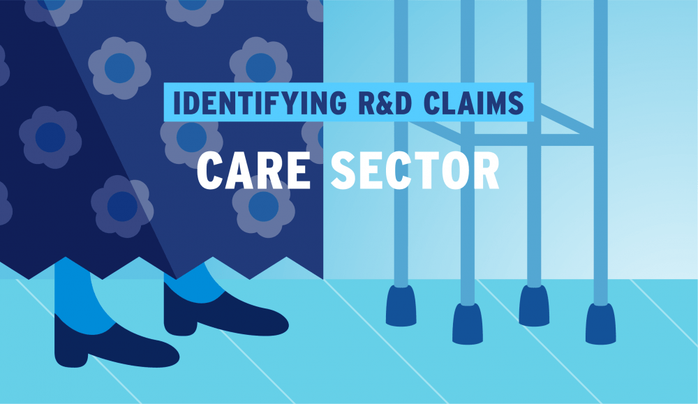 Identifying eligible R&D clients in the Care Sector