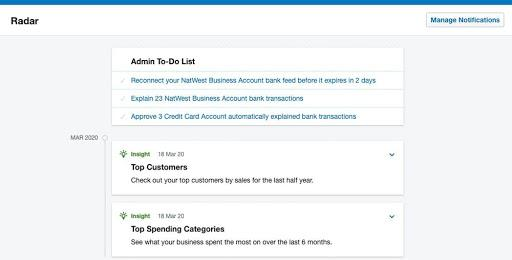 Help clients keep accounts in order with Radar