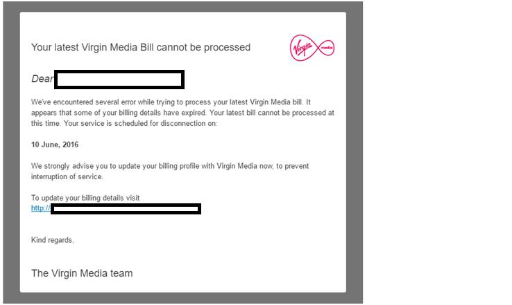Virgin Media Email 25