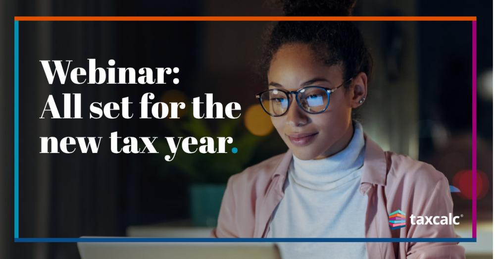 What's new in TaxCalc: Webinar