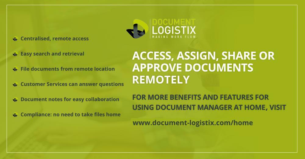 Remote document management