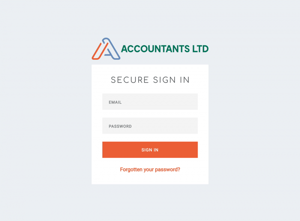 client portal branding