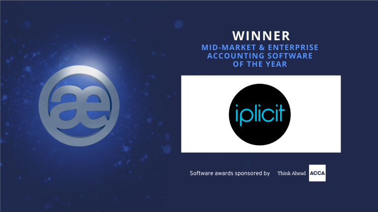 MID-MARKET & ENTERPRISE ACCOUNTING SOFTWARE OF THE YEAR