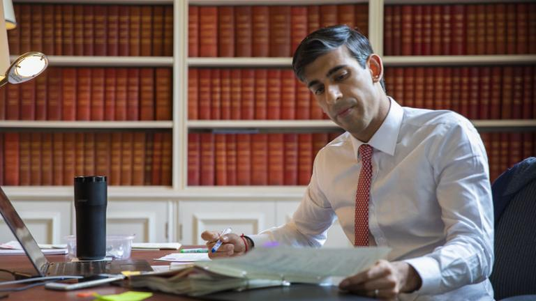 The Chancellor Rishi Sunak