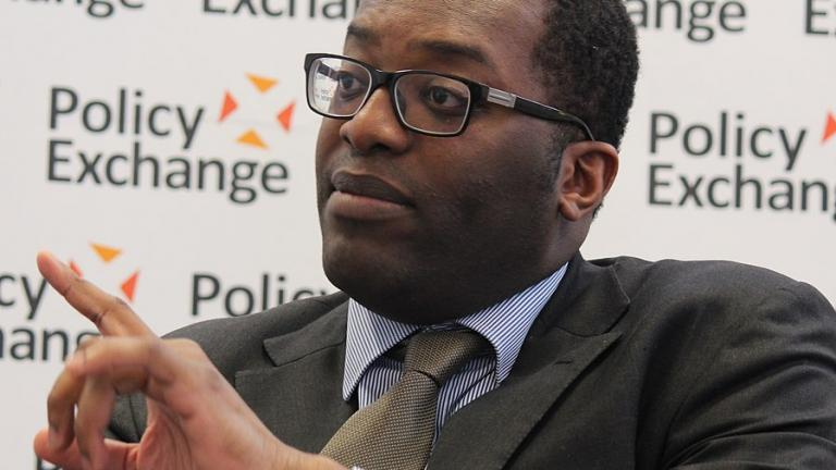 """Kwasi Kwarteng MP at the Policy Exchange event in 2014  """"Global Growth- Challenge or opportunity for the UK?"""""""