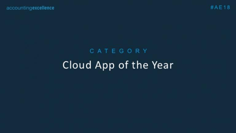 Cloud App of the Year