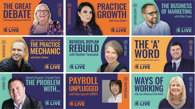 AccountingWEB Live launch line-up