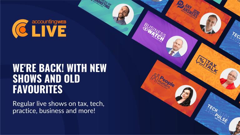 AccountingWEB Live is back