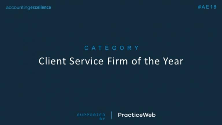 AE Awards 2018: Client Service Firm of the Year