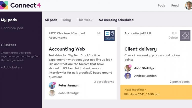 Connect4 creates new online meeting environment for accountancy practitioners