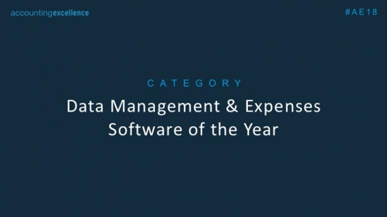 Data Management & Expenses Software of the Year