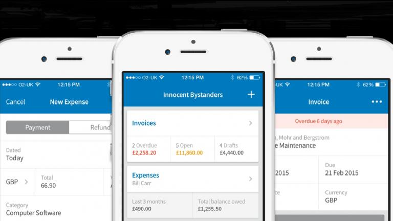 FreeAgent iPhone app
