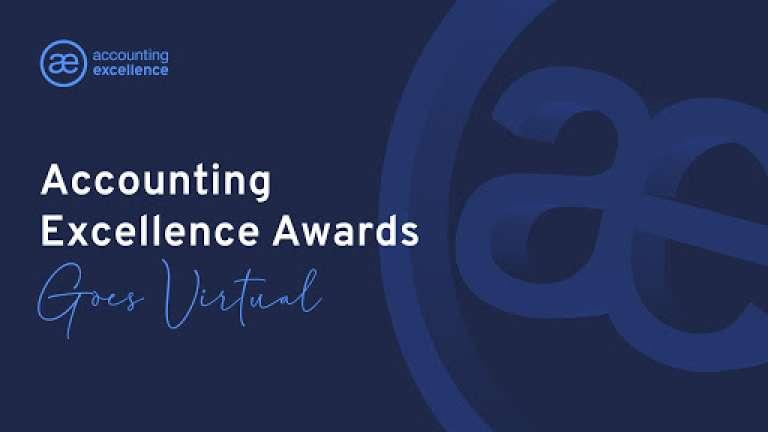 Watch the 2020 Accounting Excellence Awards live at 5pm, Wednesday 3 December