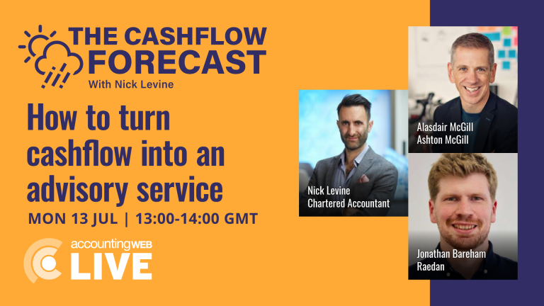 The Cashflow Forecast with Nick Levine