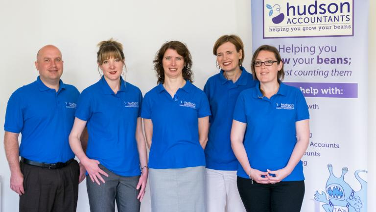 The Hudson Accountants team