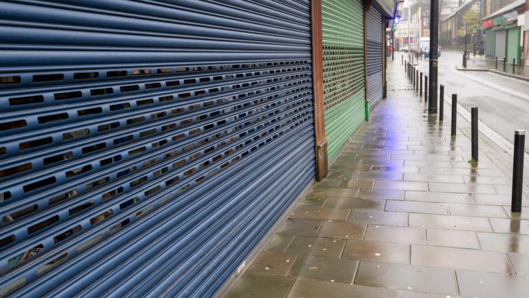High Street Shops closing down