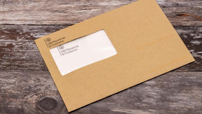 HMRC envelope