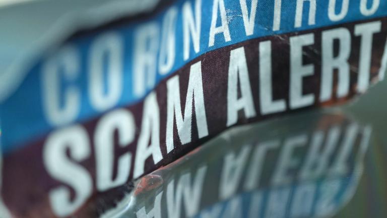 Coronavirus scam alert