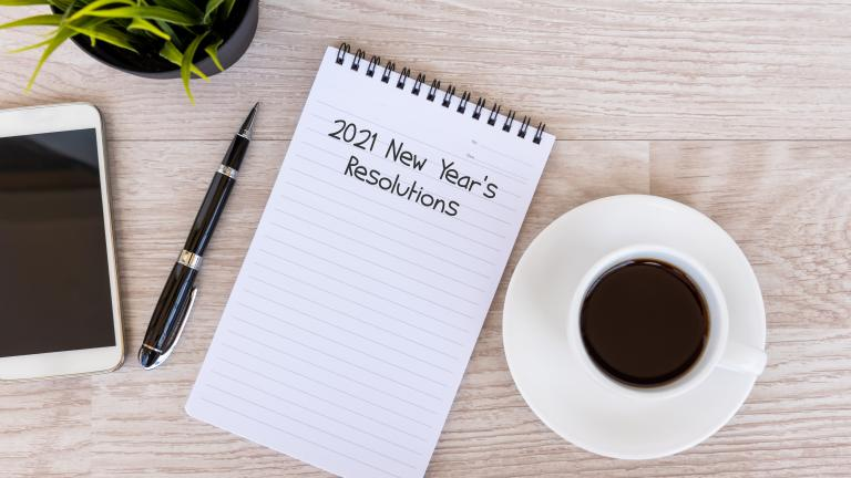 2021 New Year's resolutions