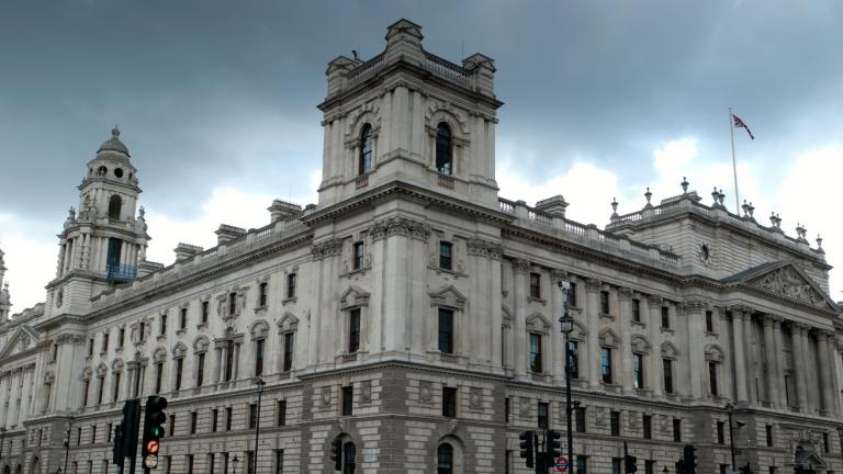 HMRC, Her Majesty Revenue and Customs building, Parliament Square, London, England,