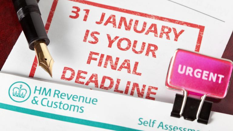 Deadline for HMRC self assessment