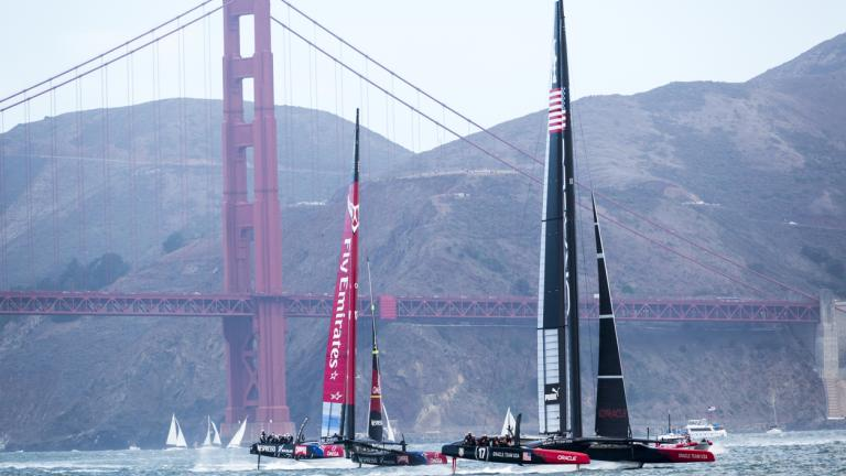 Two America's Cup teams
