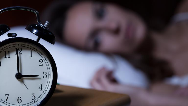 awake at night