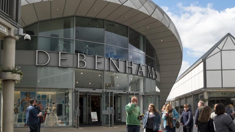 Debenhams in Bury St Edmunds