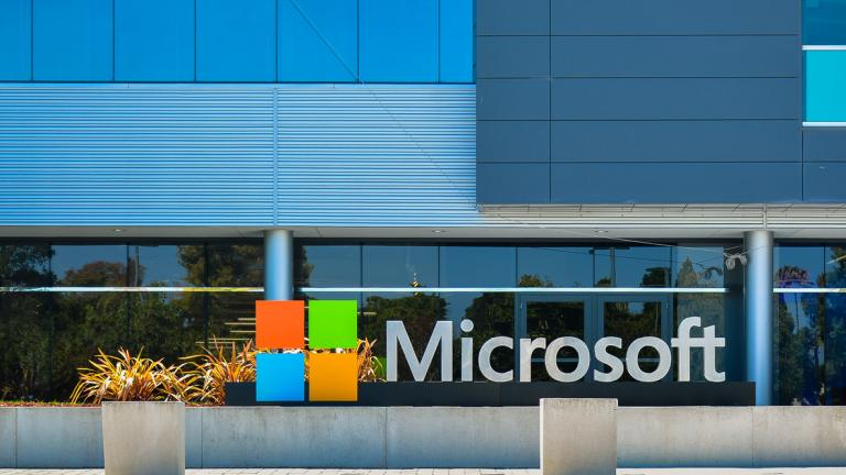 Microsoft: Mountain View, CA, USA - Sept. 4, 2016: Microsoft Silicon Valley Center. Microsoft SVC is the software giant's presence in the Silicon Valley of California.