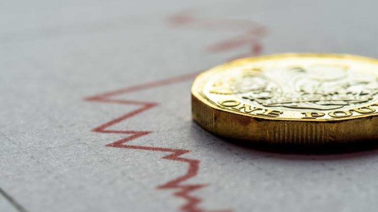 An image depicting an economic downturn