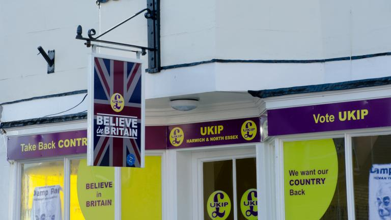 UKIP offices in Harwich
