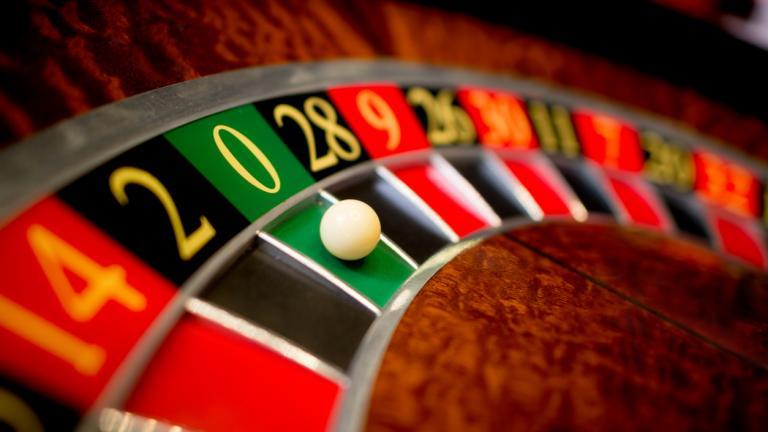 zero on a roulette wheel