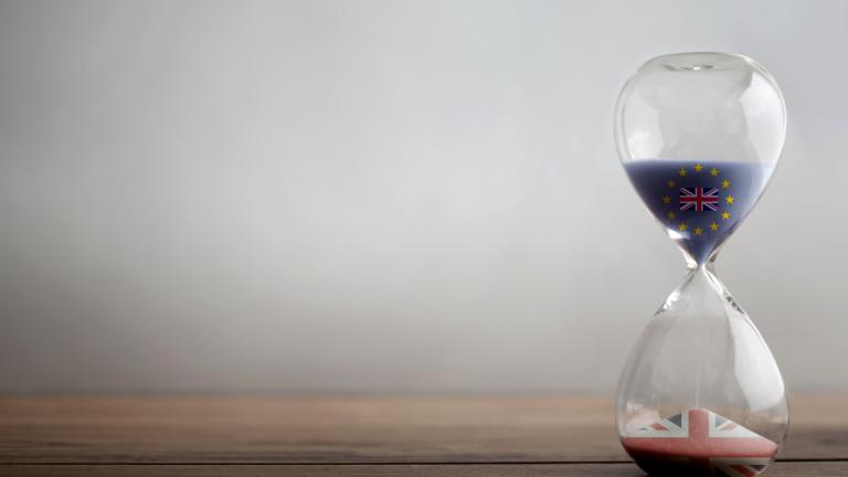 Hourglass background