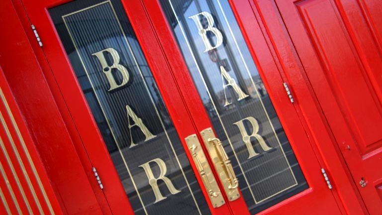 bar front door