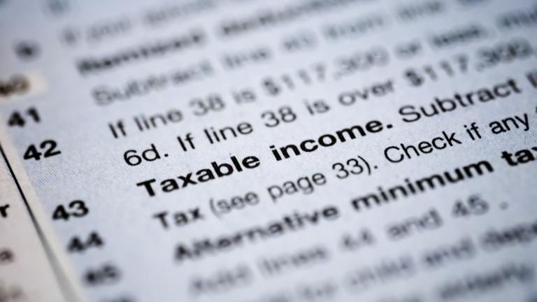 taxable income definition