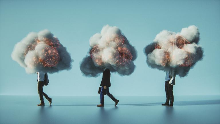 mobile cloud computing conceptual image