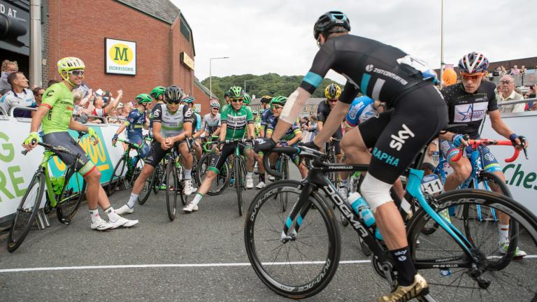 Tour of Britain Cycle Race 2016