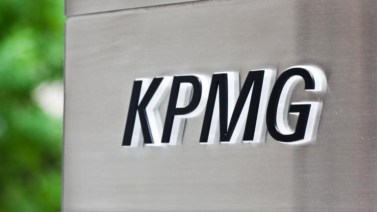 KPMG sign