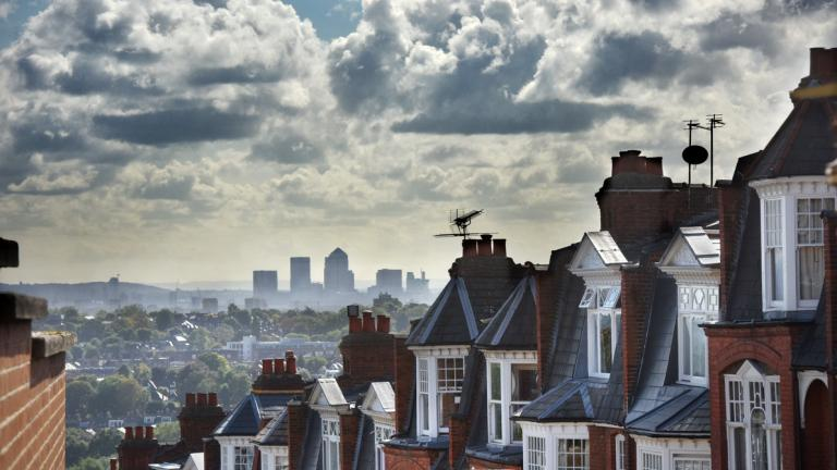 View over Muswell Hill, London