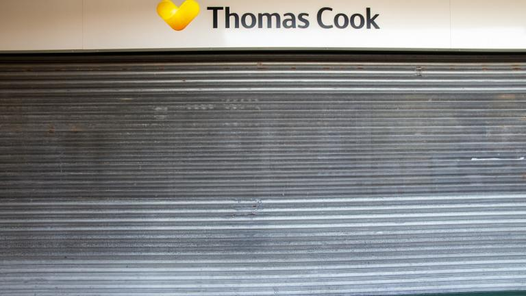 close thomas cook store