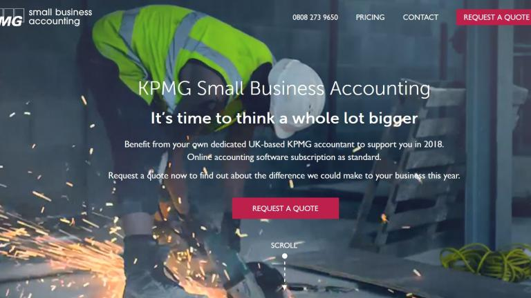 KPMG small business accounting unit
