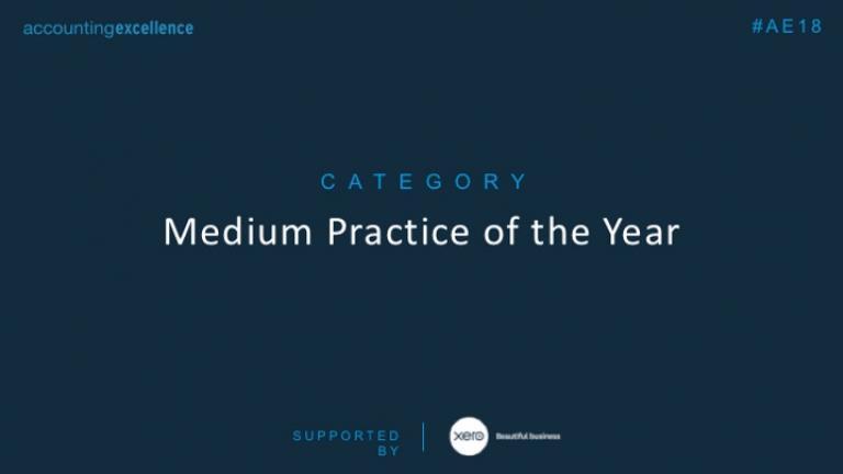 AE Awards 2018: Medium Practice of the Year