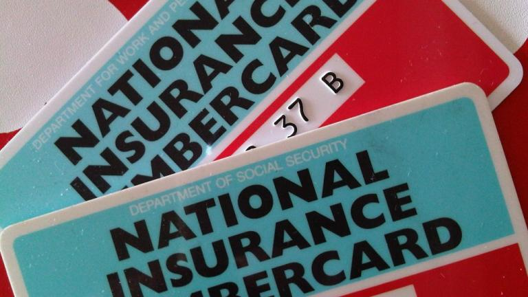 National insurance cards