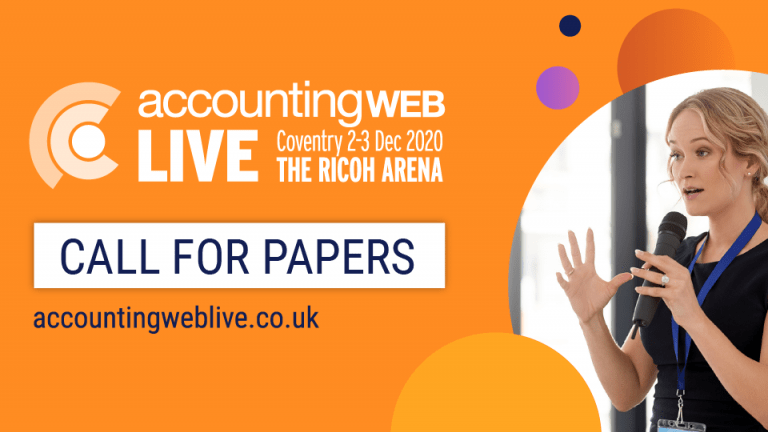 AccountingWEB Live - Call for papers
